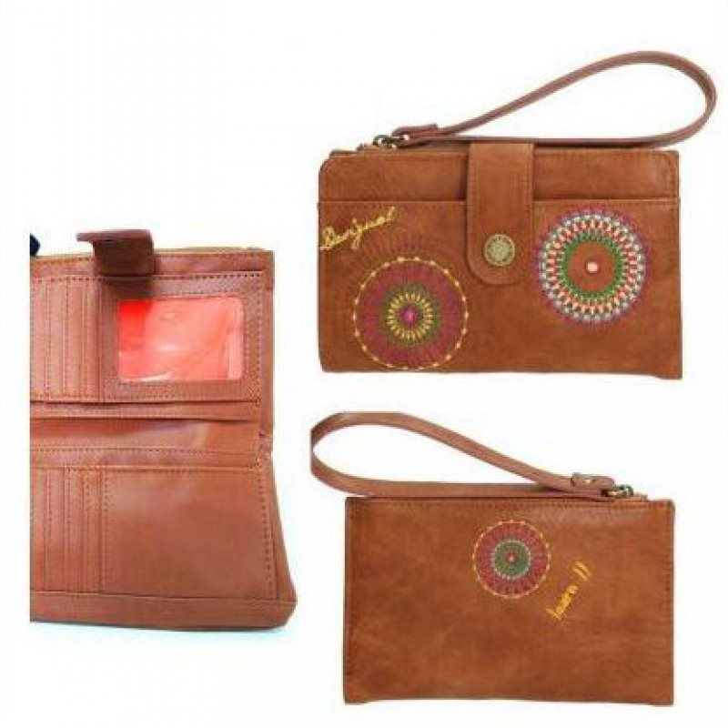 monedero-marron-desigual